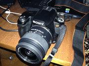 Продам зеркальный фотоаппарат Sony Alpha A-290 kit