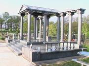 Гранитные изделия из Коростышева (склепы)